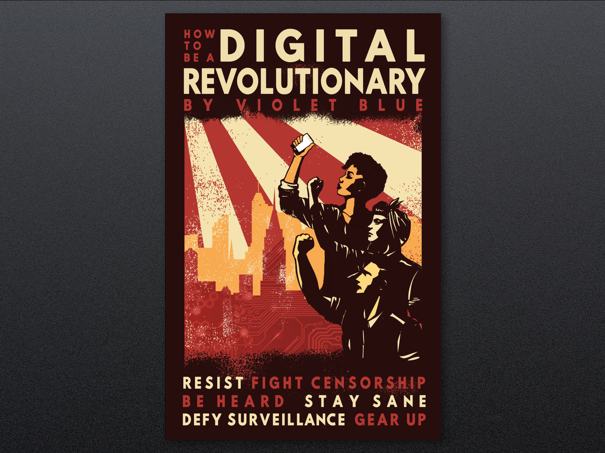 How To Be A Digital Revolutionary €� Ebook With Usb Bracelet  By Violet