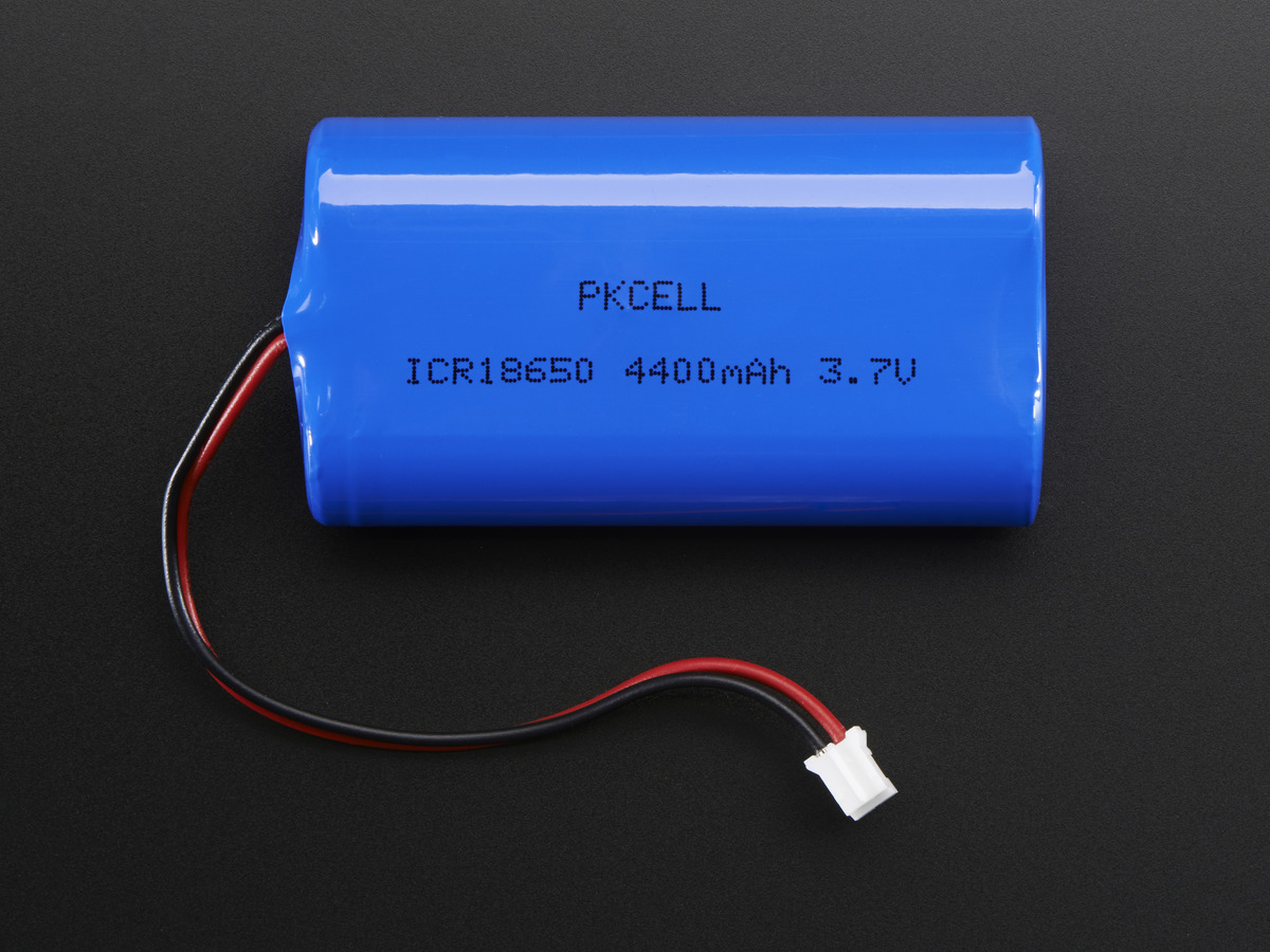 Lithium Ion Battery Pack - 3 7V 6600mAh ID: 353 - $29 50 : Adafruit