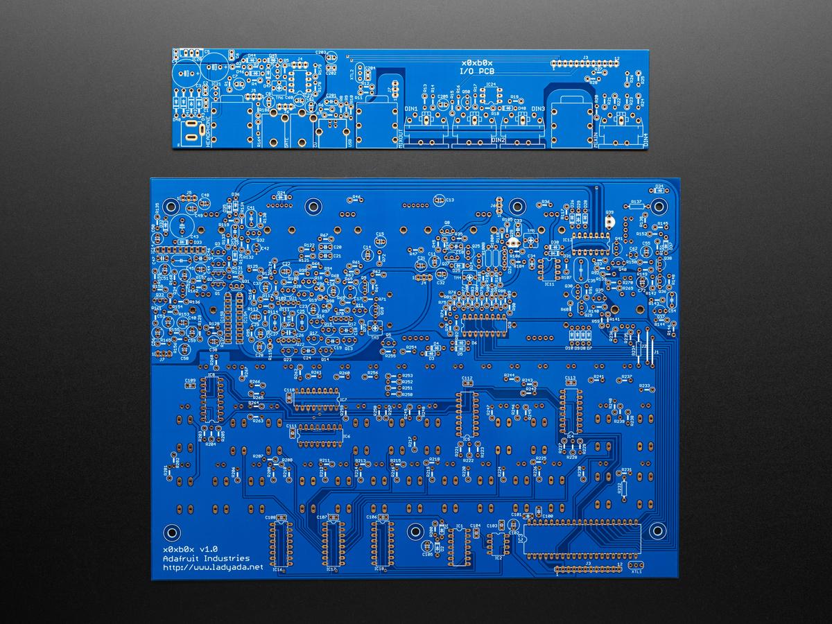 Ladyada's x0xb0x Synth Kit - PCB Set ID: 3603 - $30 30 : Adafruit