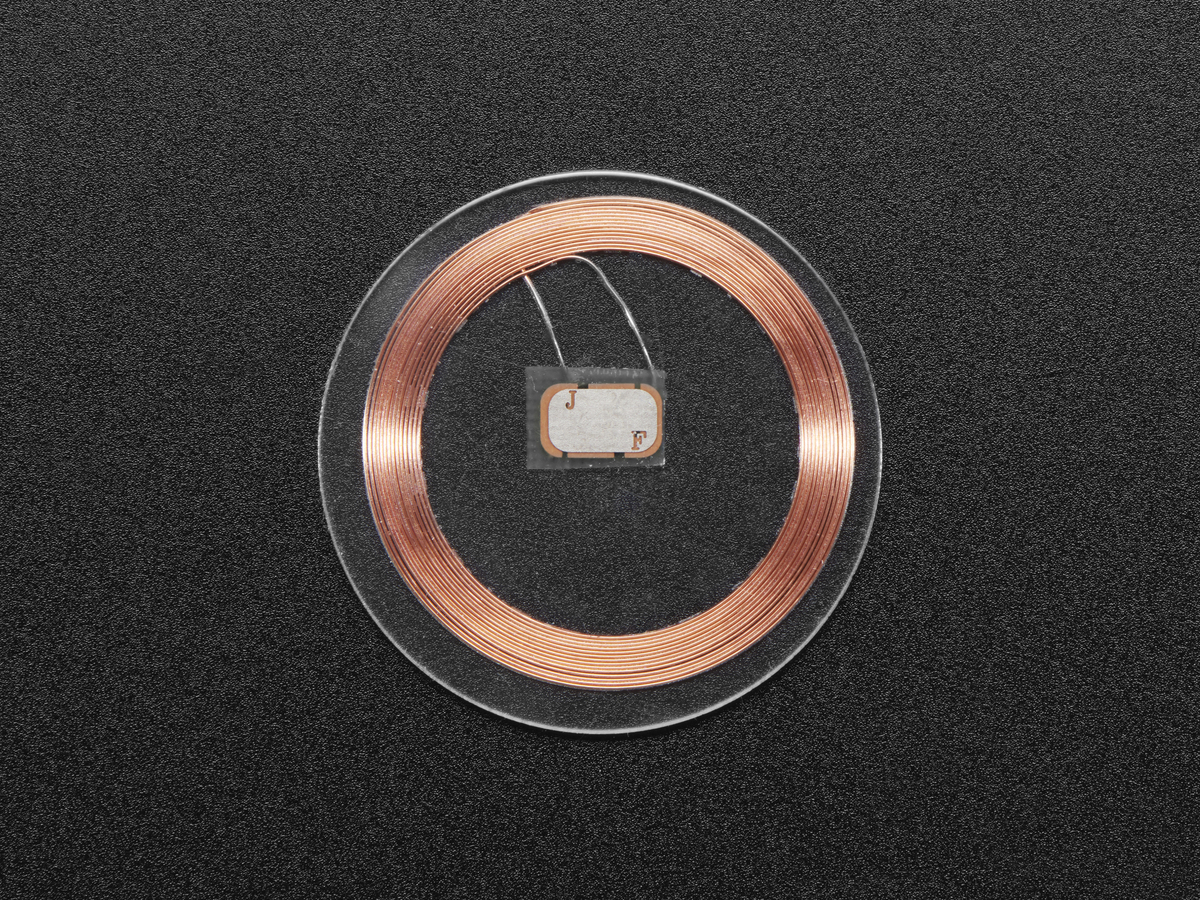 13 56MHz RFID/NFC Clear Tag - Classic 1K