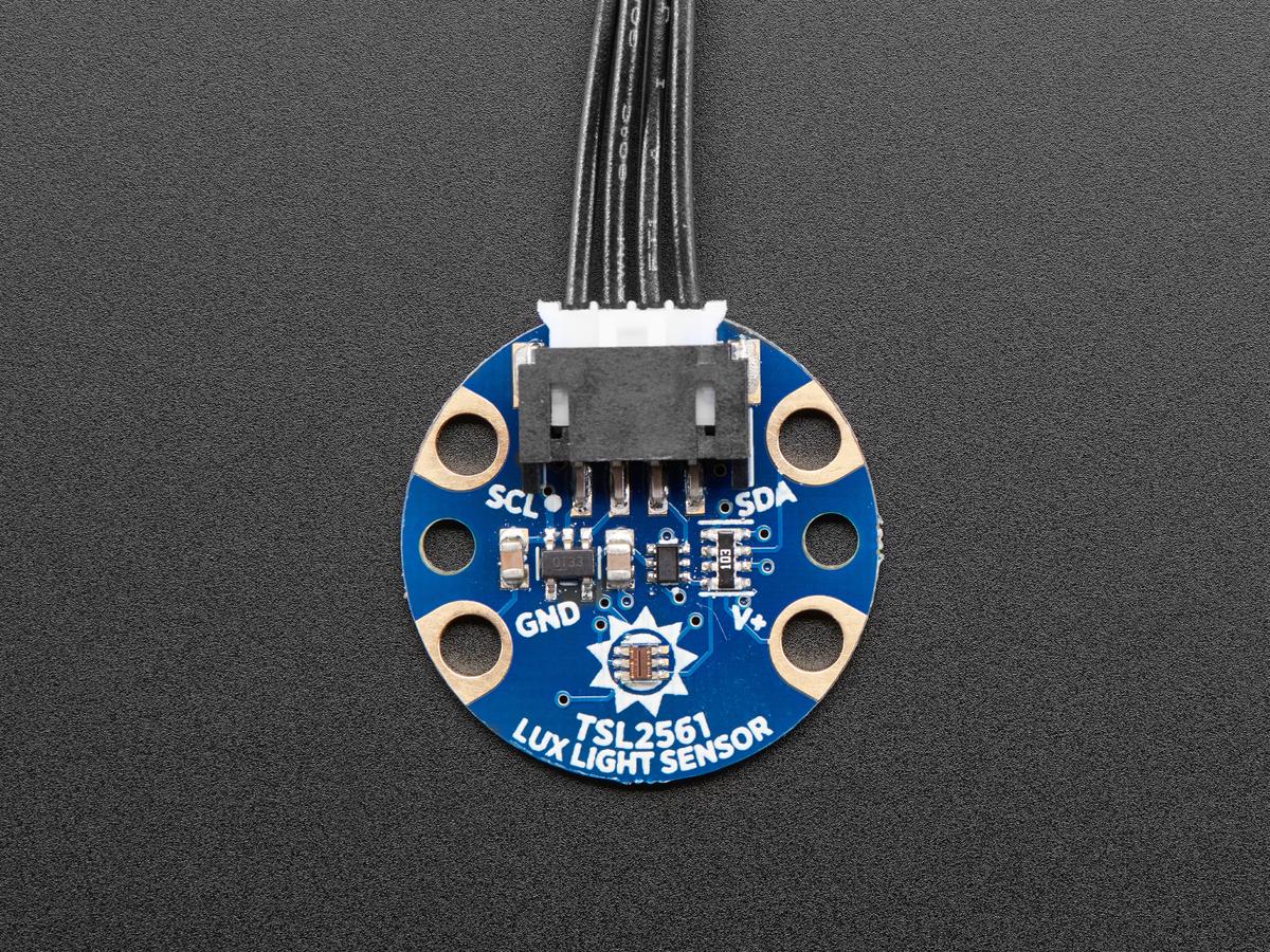 Adafruit STEMMA - TSL2561 Digital Lux / Light Sensor ID: 3611 ...