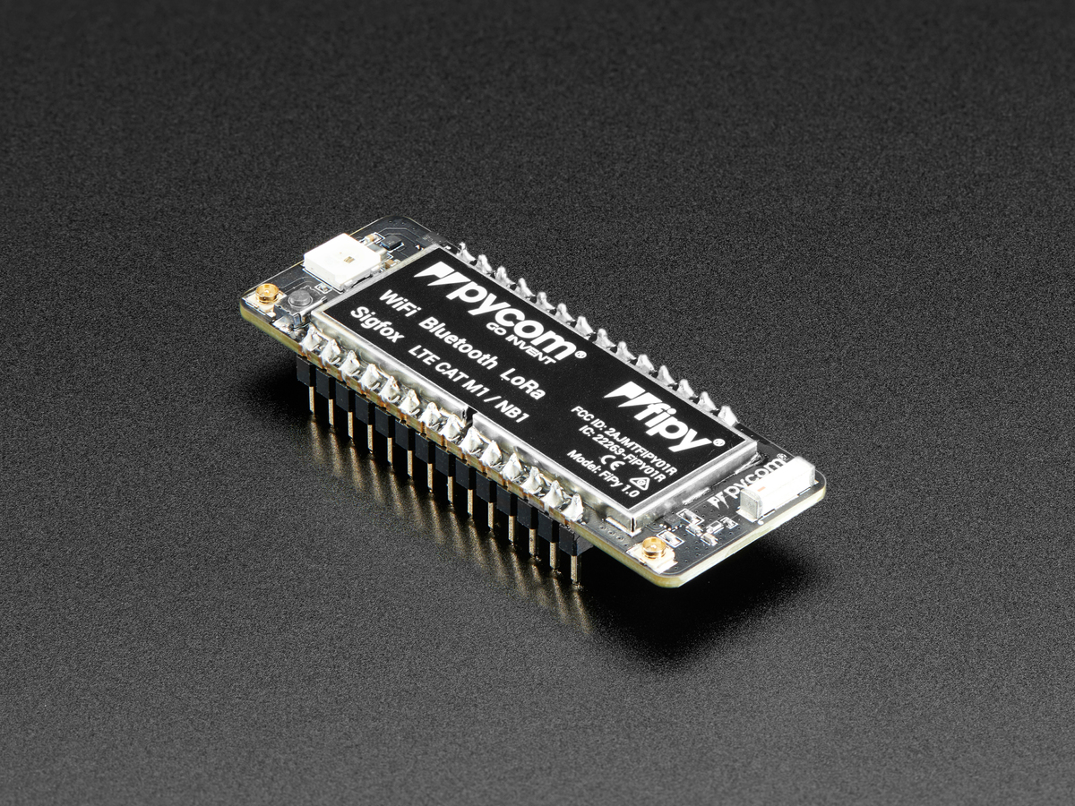 Pycom FiPy ID: 3613 - $79 95 : Adafruit Industries, Unique & fun DIY