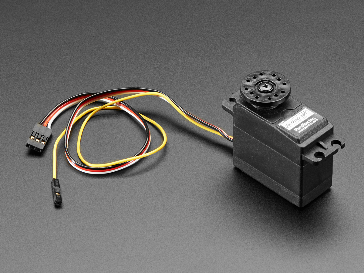 Feedback 360 degree high speed continuous rotation servo Servo motor 360 degrees arduino