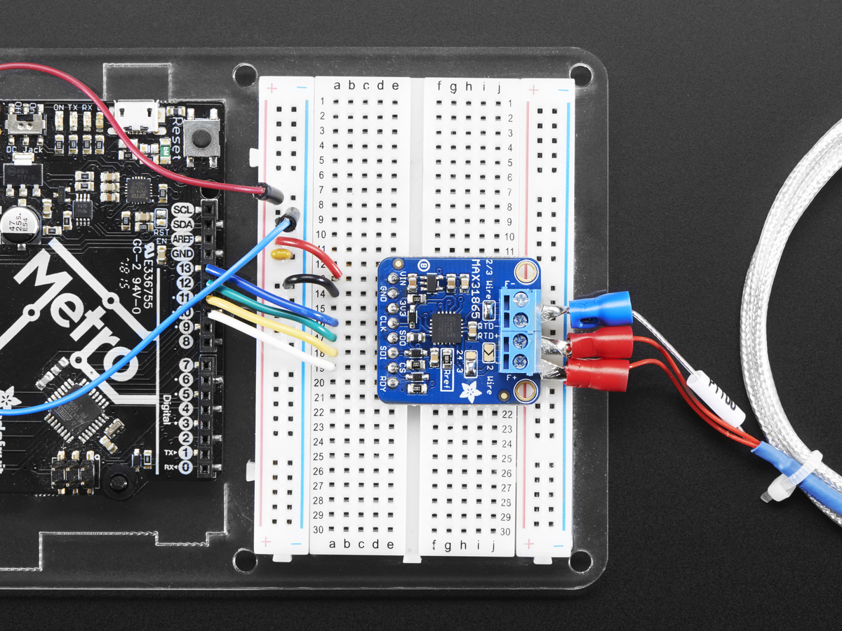 Adafruit Pt1000 Rtd Temperature Sensor Amplifier