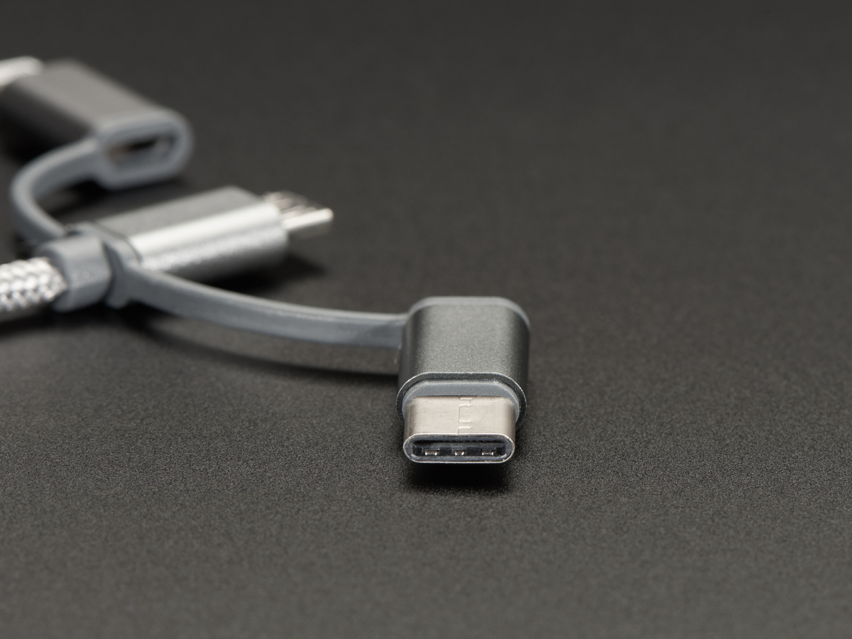 USB 3-in-1 Sync and Charge Cable - Micro B / Type-C