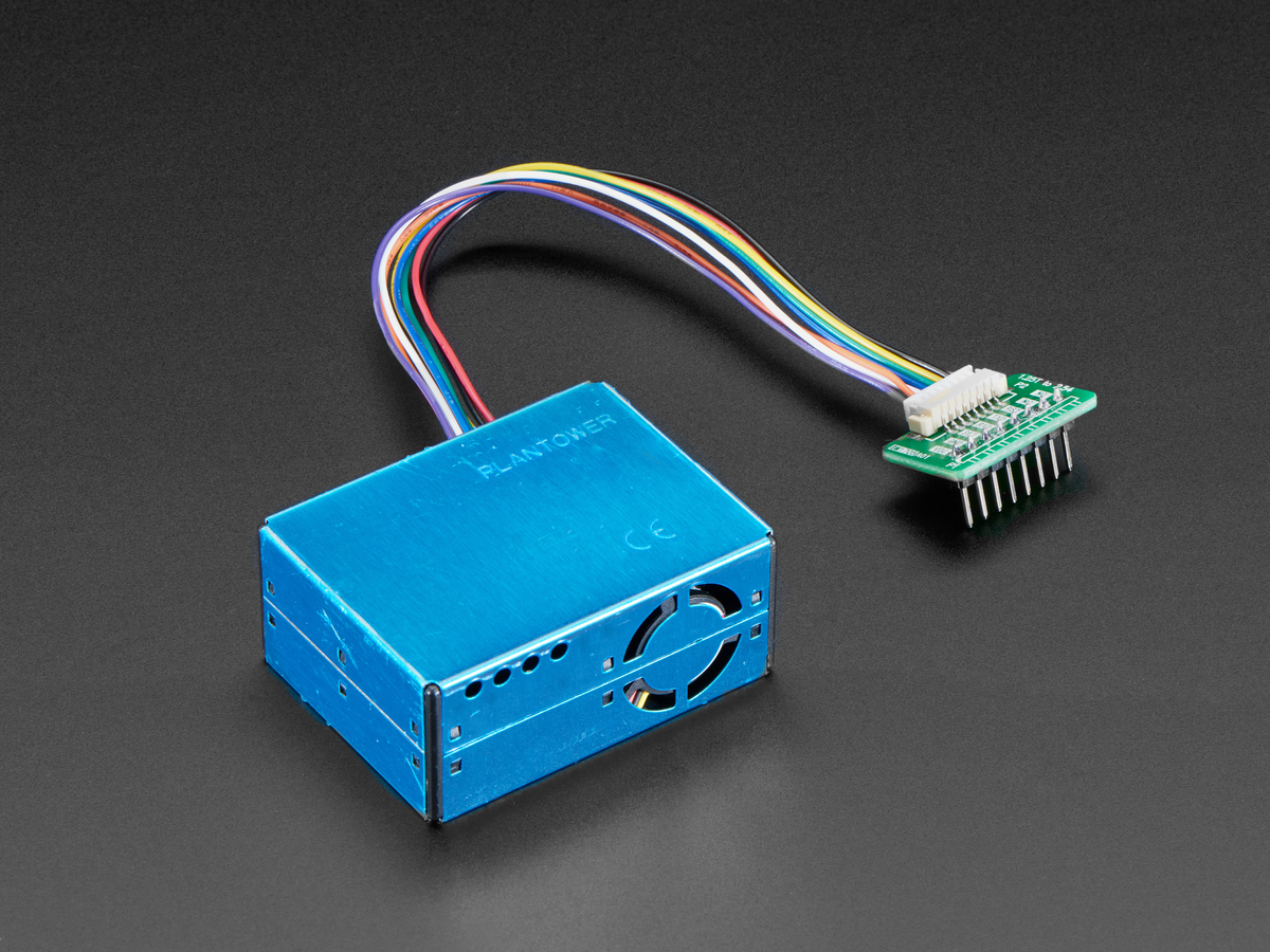 PM2.5 Air Quality Sensor and Breadboard Adapter Kit [PMS5003] ID ...