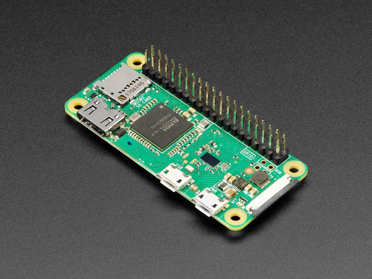 Raspberry Pi Zero Wh Zero W With Headers Id 3708 14