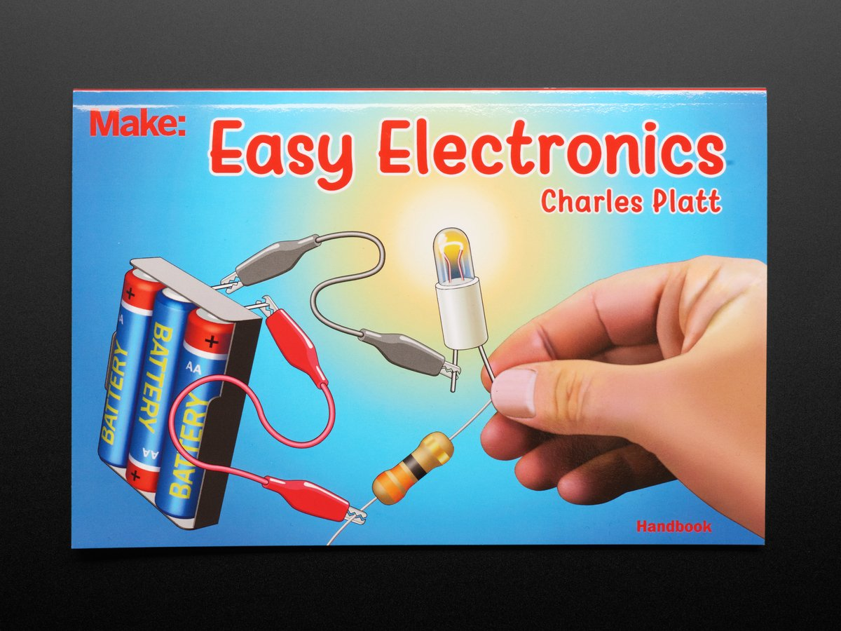 Easy Electronics by Charles Platt ID: 3716 - $9.95 : Adafruit ...
