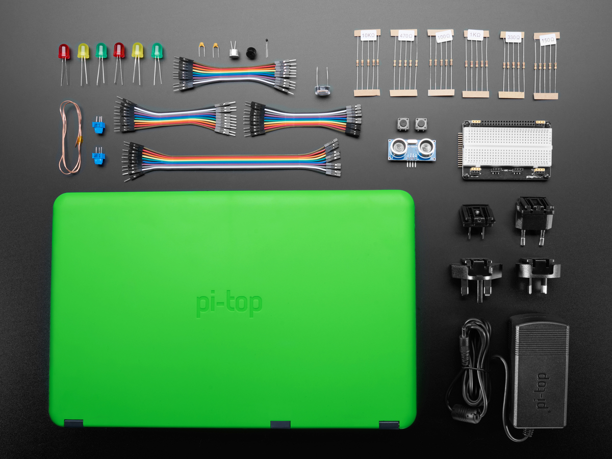 pi-top Laptop with Inventor's Kit v2 ID: 3762 - $299 95