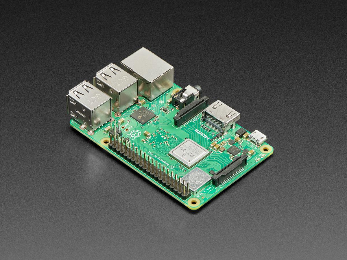 Raspberry Pi 3 - Model B+ - 1 4GHz Cortex-A53 with 1GB RAM ID: 3775