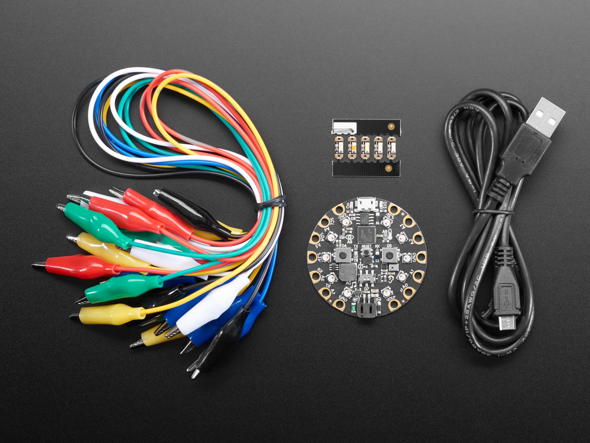 Codeorg Circuit Playground Individual Kit Pack Id 3795 2995 Board Clamp Science Electronics Components Printed Boards