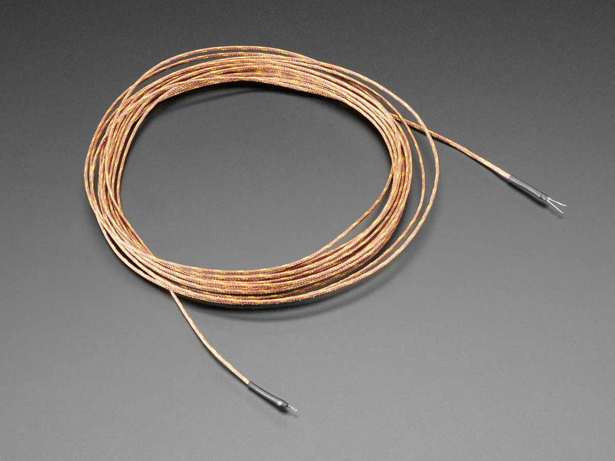 Thermocouple Type-K Glass Braid Insulated - 5m ID: 3895 - $24.95 ...
