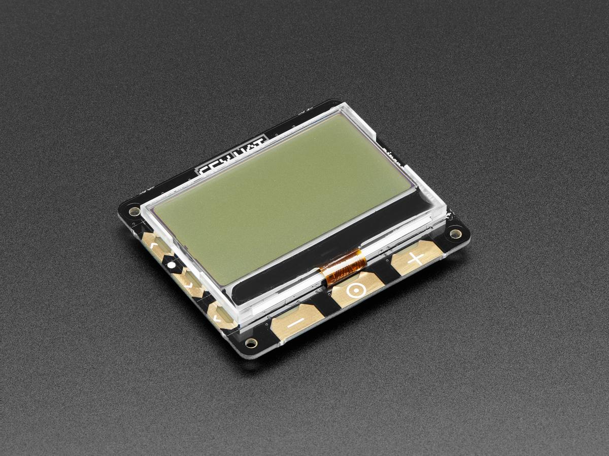 Pimoroni GFX HAT - 128x64 LCD Display [RGB Backlight and 6