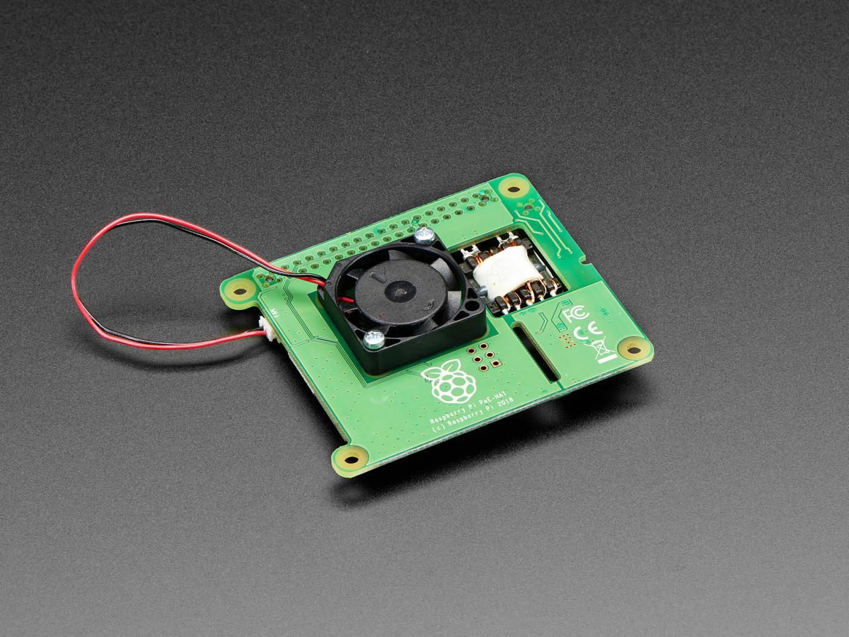 Raspberry Pi PoE Hat ID: 3953 - $20 00 : Adafruit Industries