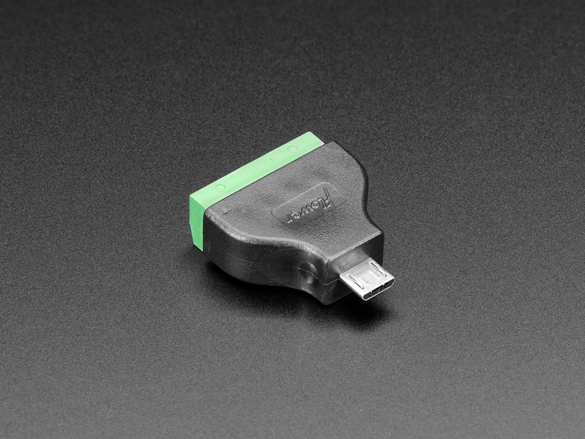 5 Pin Trailer Connector Wiring Diagram, Usb Micro B Male Plug To 5 Pin Terminal Block, 5 Pin Trailer Connector Wiring Diagram