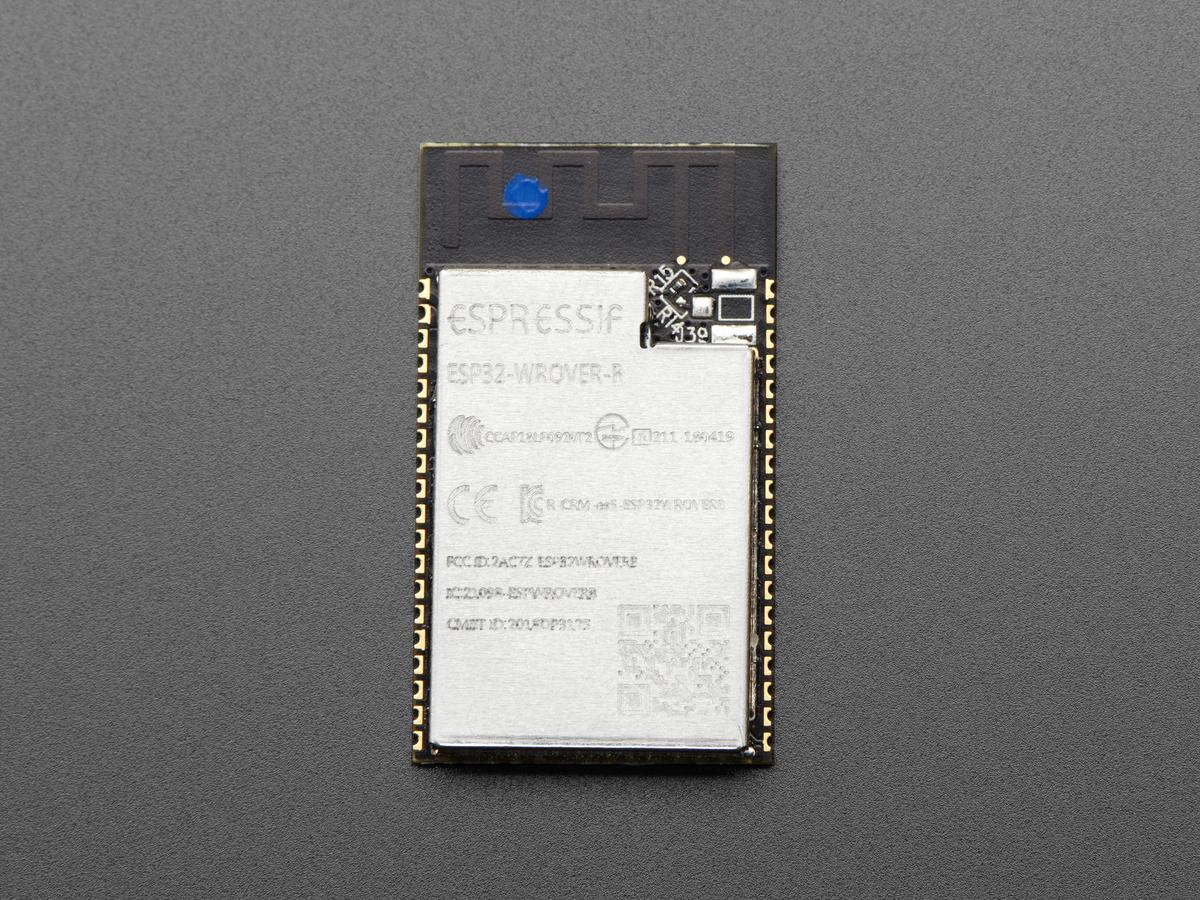 ESP32-WROVER-B Module - ESP32 with PSRAM Module ID: 3979