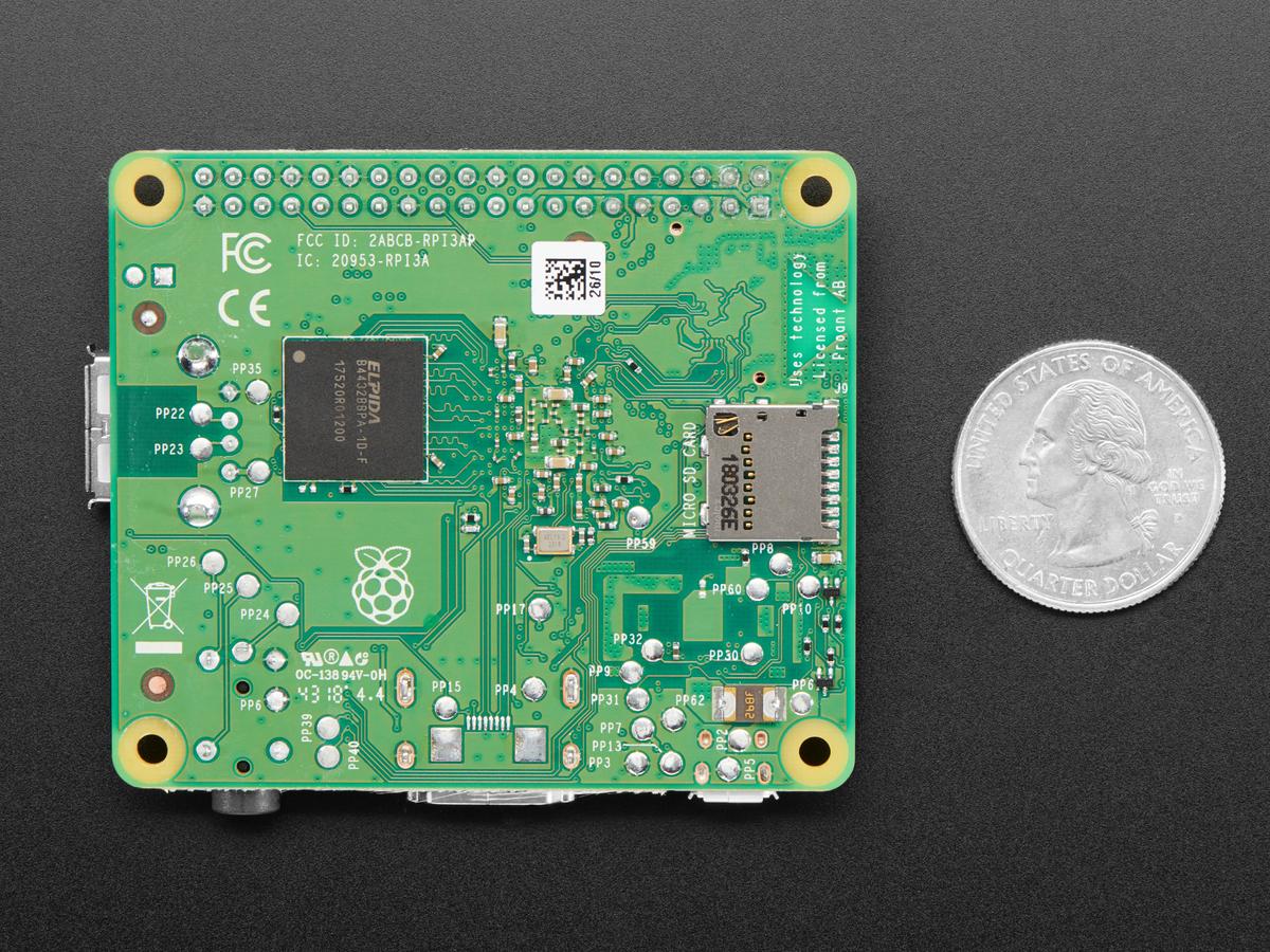 Raspberry Pi Model 3 A+ ID: 4027 - $25 00 : Adafruit
