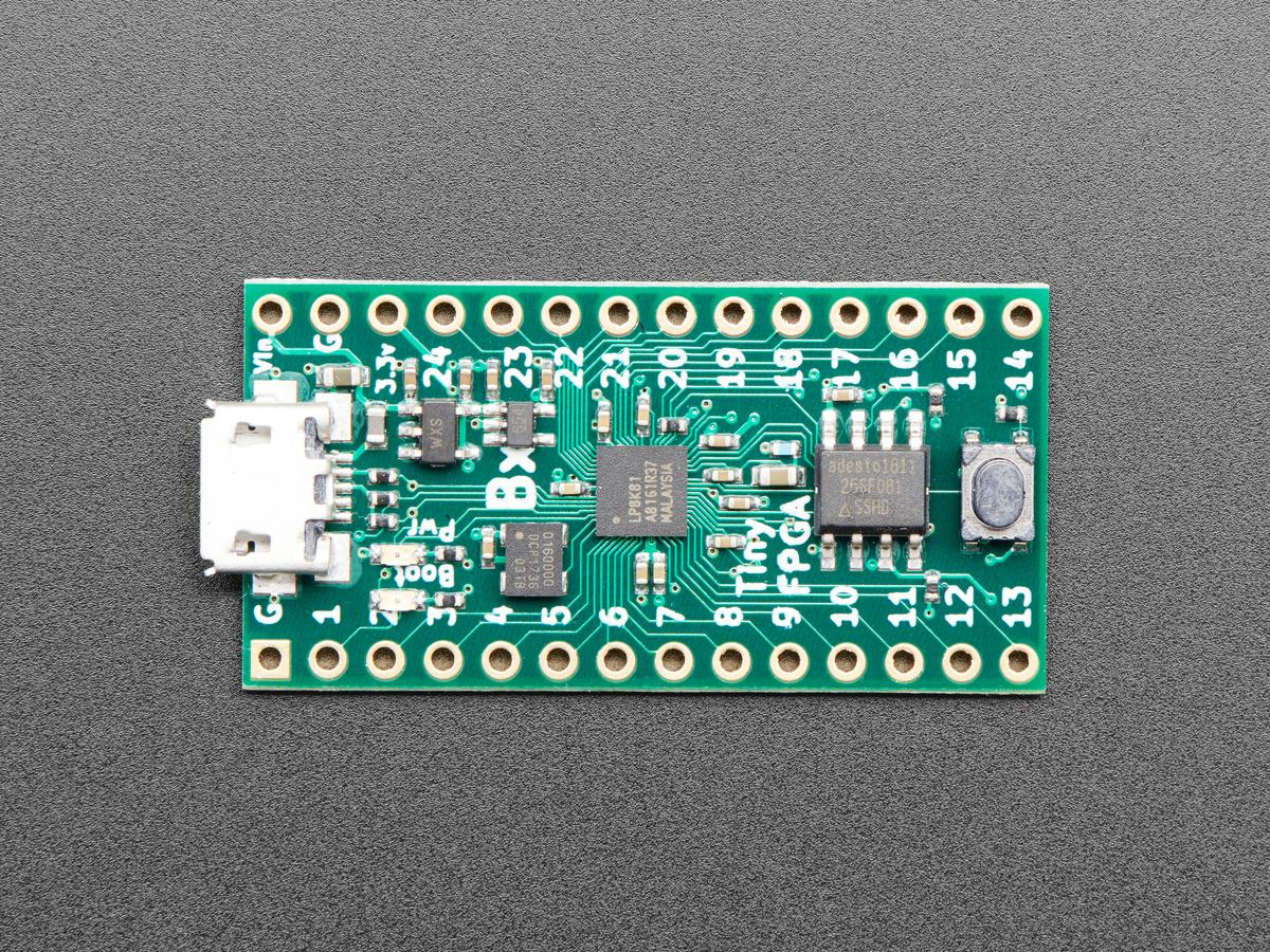 TinyFPGA BX - ICE40 FPGA Development Board with USB ID: 4038