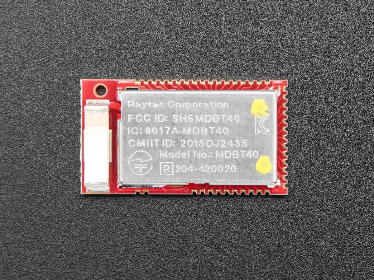 nRF51822 Bluetooth Low Energy Module [MDBT40-256RV3] ID: 4076