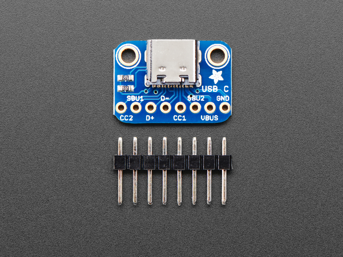 Adafruit Usb C Breakout Board Downstream Connection Id
