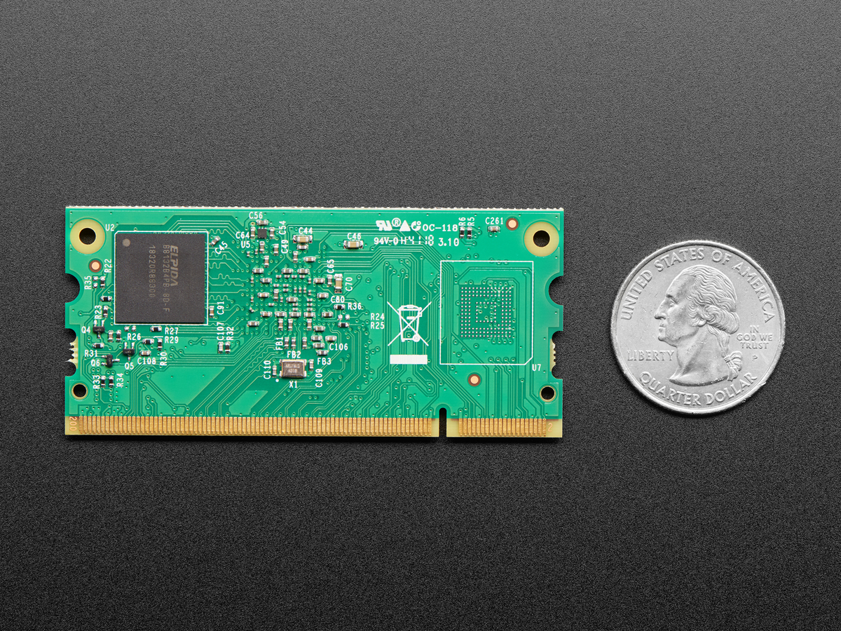 Raspberry Pi Compute Module 3+ Lite ID: 4093 - $25 00