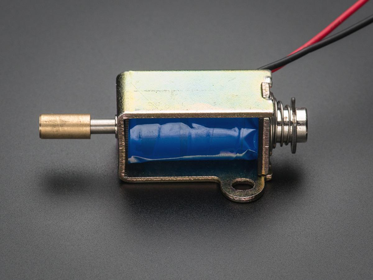 ... Small Push-Pull Solenoid - 12VDC ...