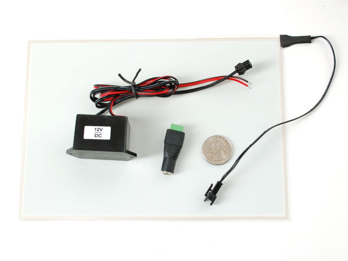 Electroluminescent (EL) Panel - 20cm x 15cm Aqua ID: 414 - $34.95 ...