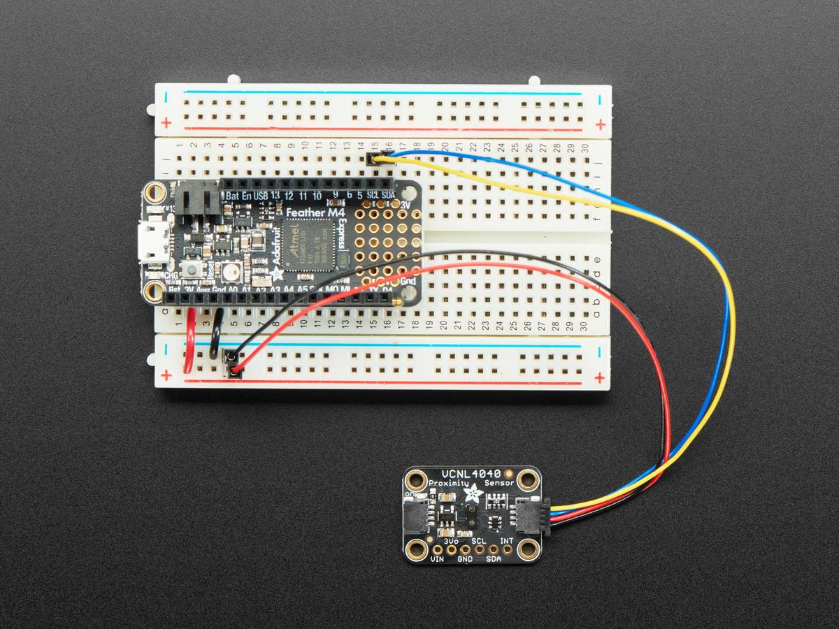 Adafruit VCNL4040 Proximity and Lux Sensor - STEMMA QT ID: 4161