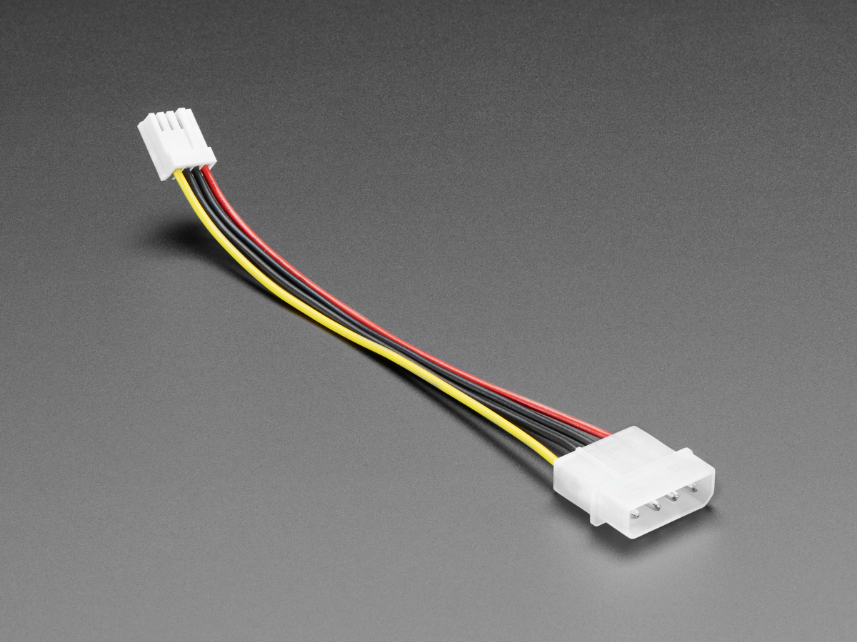 4 Pin At Atx Ide Power Cable Id 425 195 Adafruit Industries Fan Extension 3 Wire