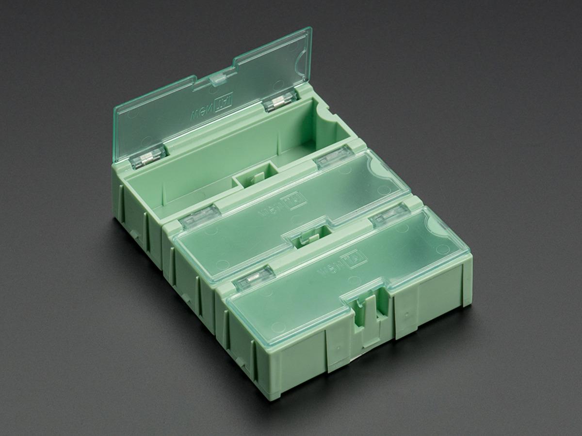 Details about  /8 unit pack Medium Modular Snap Boxes SMD component storage