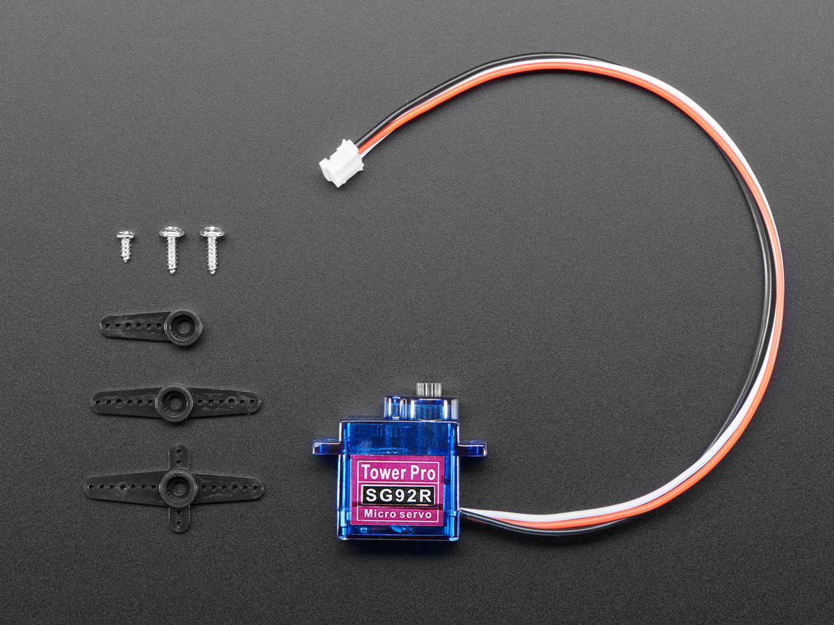 Micro Servo With 3-pin Jst Cable