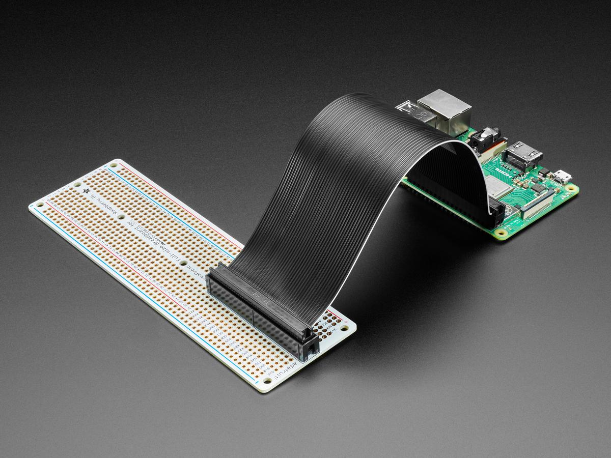 Adafruit Perma-Proto 40-Pin Raspberry Pi Breadboard PCB Kit