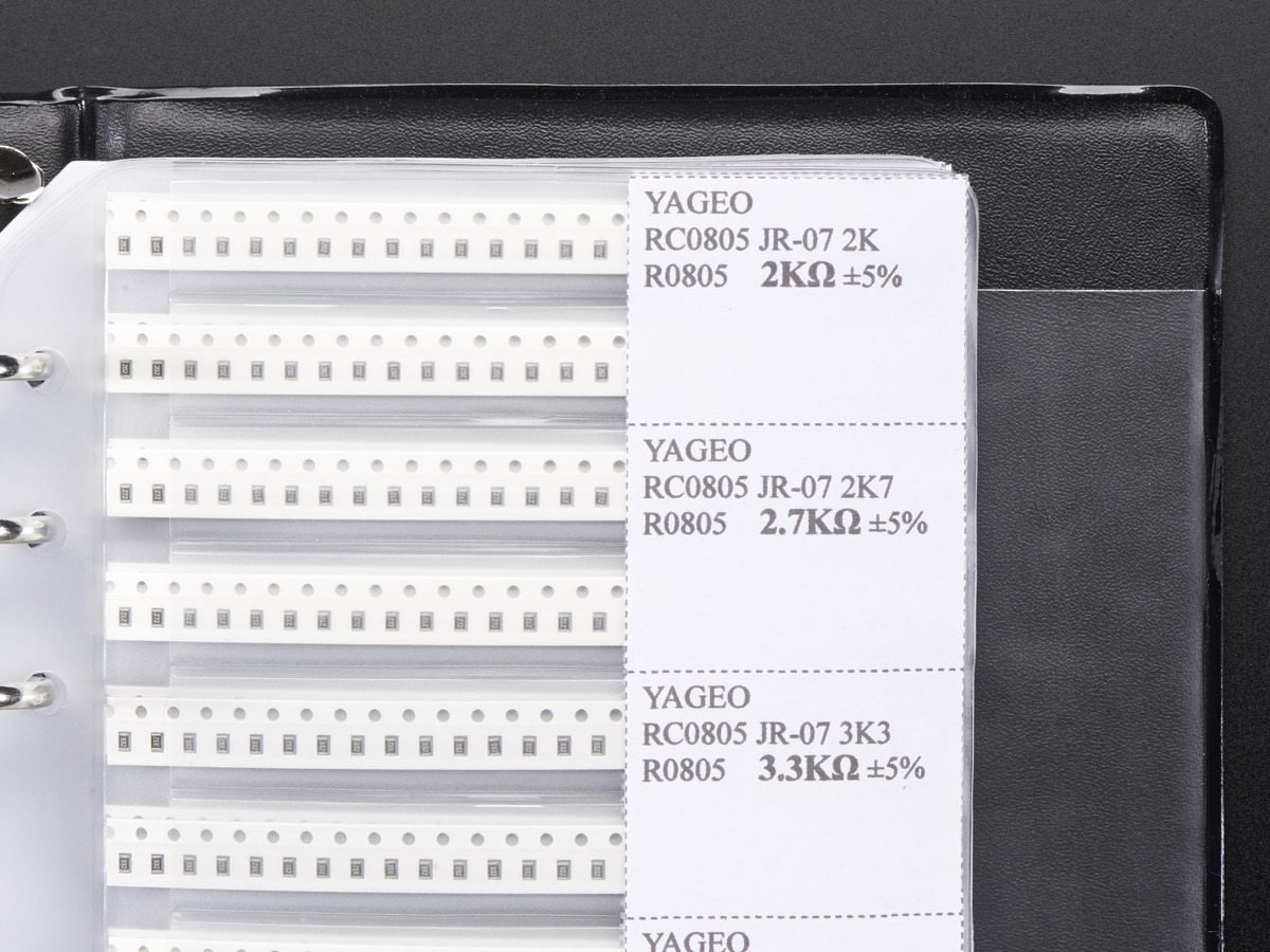 Smt Smd 0805 Resistor And Capacitor Book 3725 Pieces Id