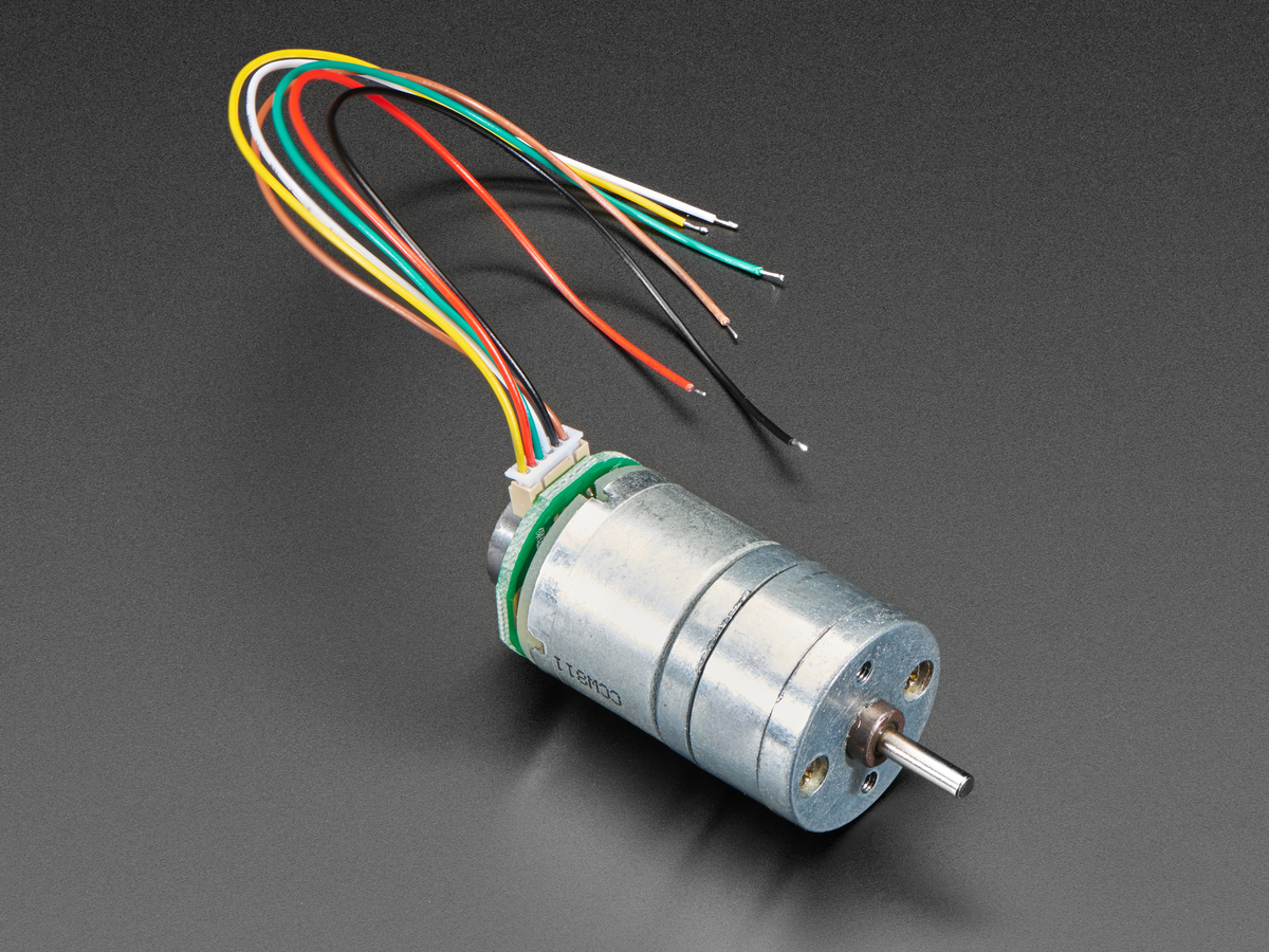 [DIAGRAM_5LK]  Geared DC Motor with Magnetic Encoder Outputs - 7 VDC 1:20 Ratio ID: 4416 -  $13.50 : Adafruit Industries, Unique & fun DIY electronics and kits | Dc Motor Encoder Wiring Diagram |  | Adafruit Industries