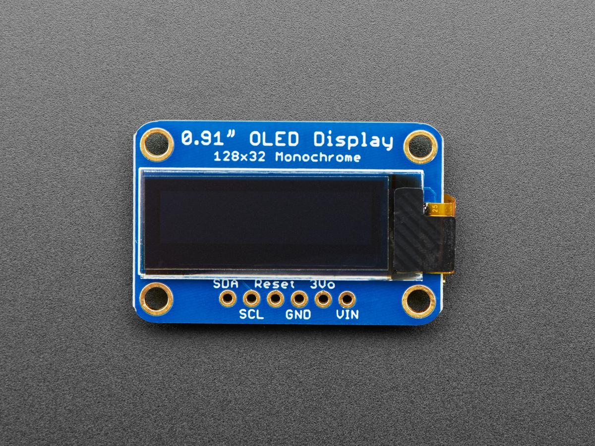 """Qwiic Compatible,326 Adafruit 0,96 /"""" 128x64 Oled-Grafikdisplay,I2C,Stemma QT"""