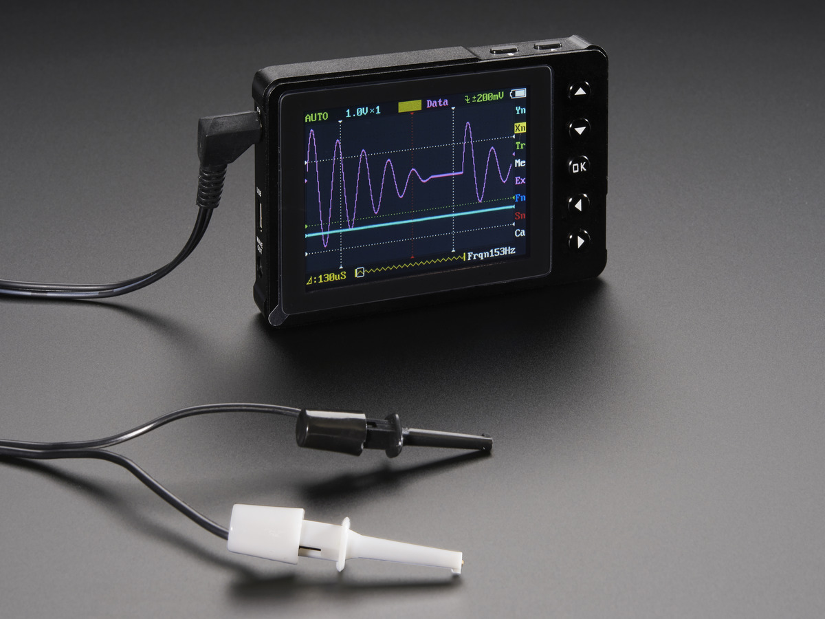 DSO Nano v3 - Pocket-size color digital oscilloscope [v3 0