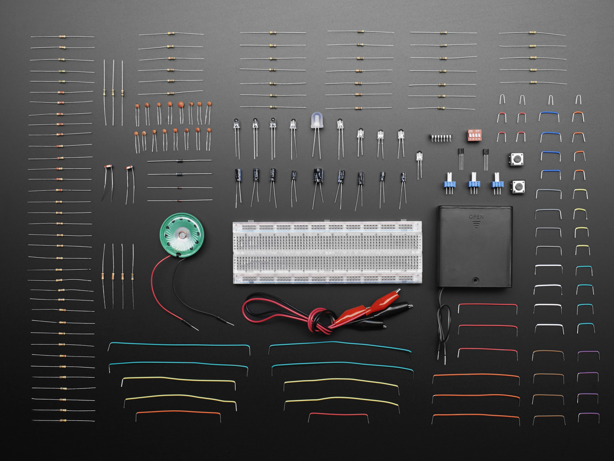 Discover Electronics Kit 20 Id 487 4995 Adafruit Engineering Circuits For You Electronic Kits Circuit Projects