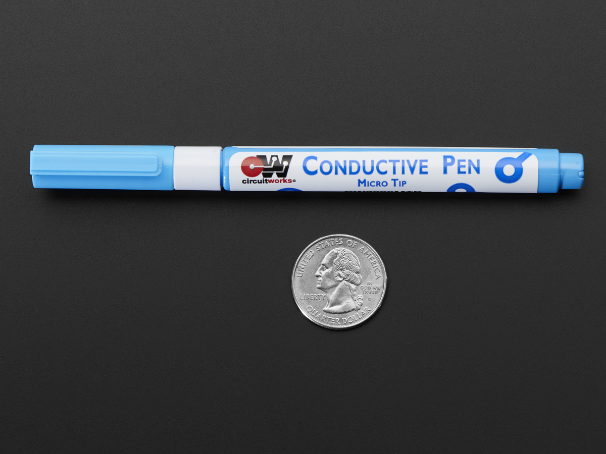 conductive silver ink pen micro tip [cw2200mtp] id 515 $49 95conductive silver ink pen micro tip cw2200mtp