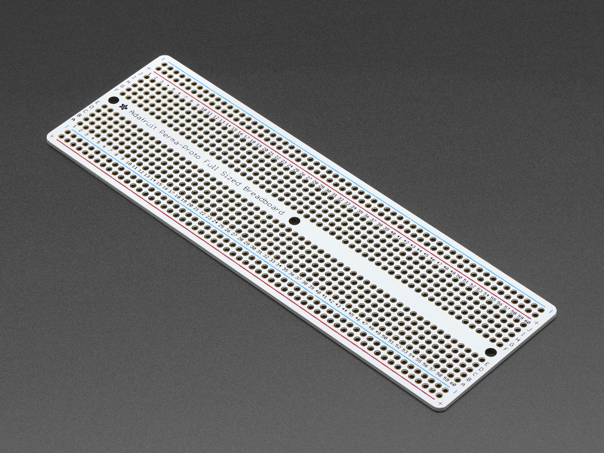 Adafruit Perma Proto Full Sized Breadboard Pcb 3 Pack Id 590 Circuit On