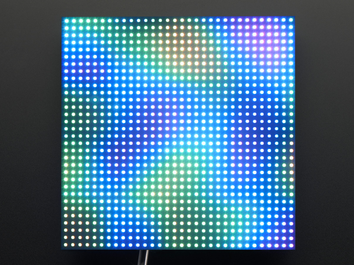 32x32 rgb led matrix panel 4mm pitch id 607. Black Bedroom Furniture Sets. Home Design Ideas