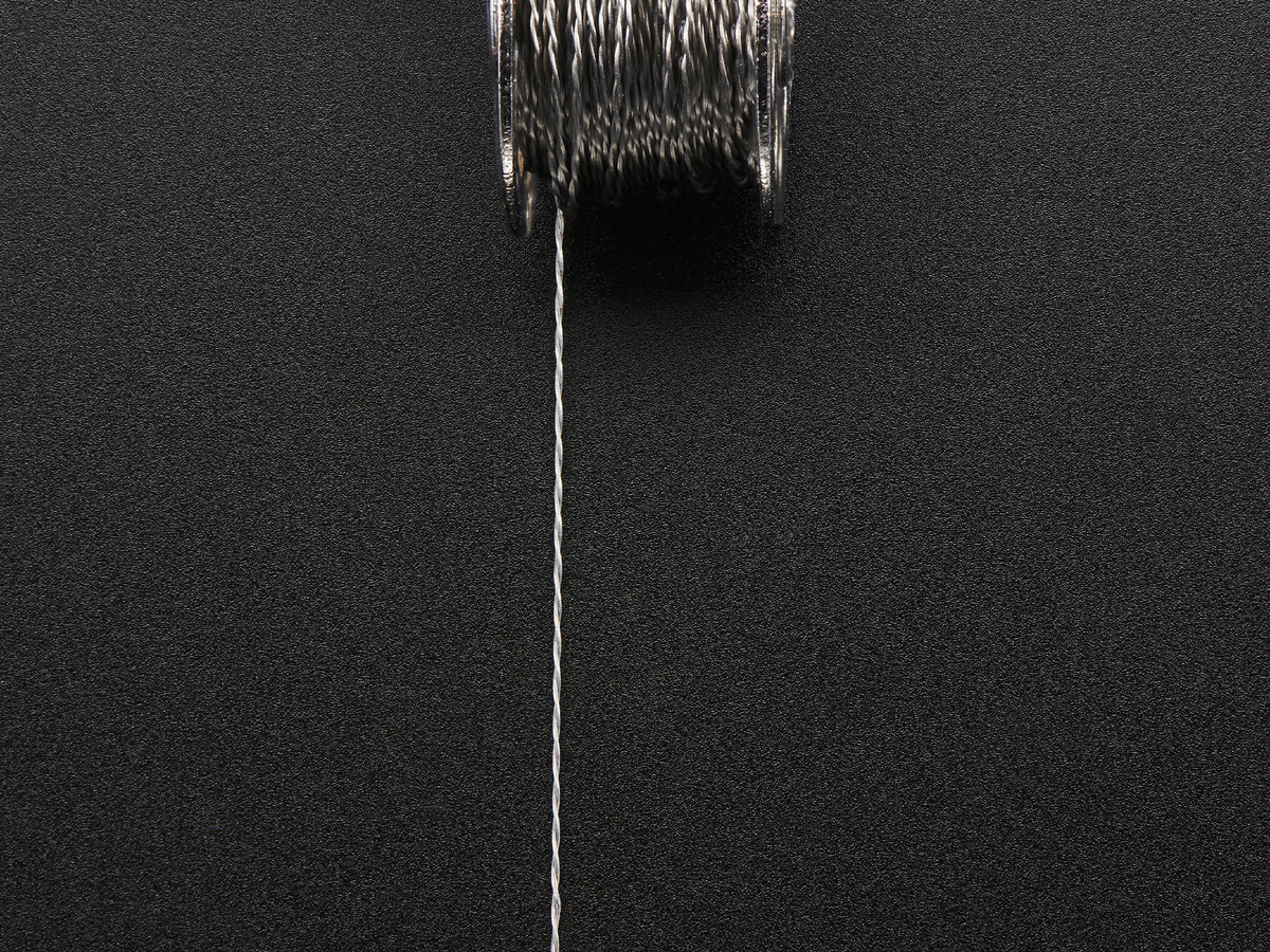 Stainless Thin Conductive Thread - 2 ply - 23 meter/76 ft ID