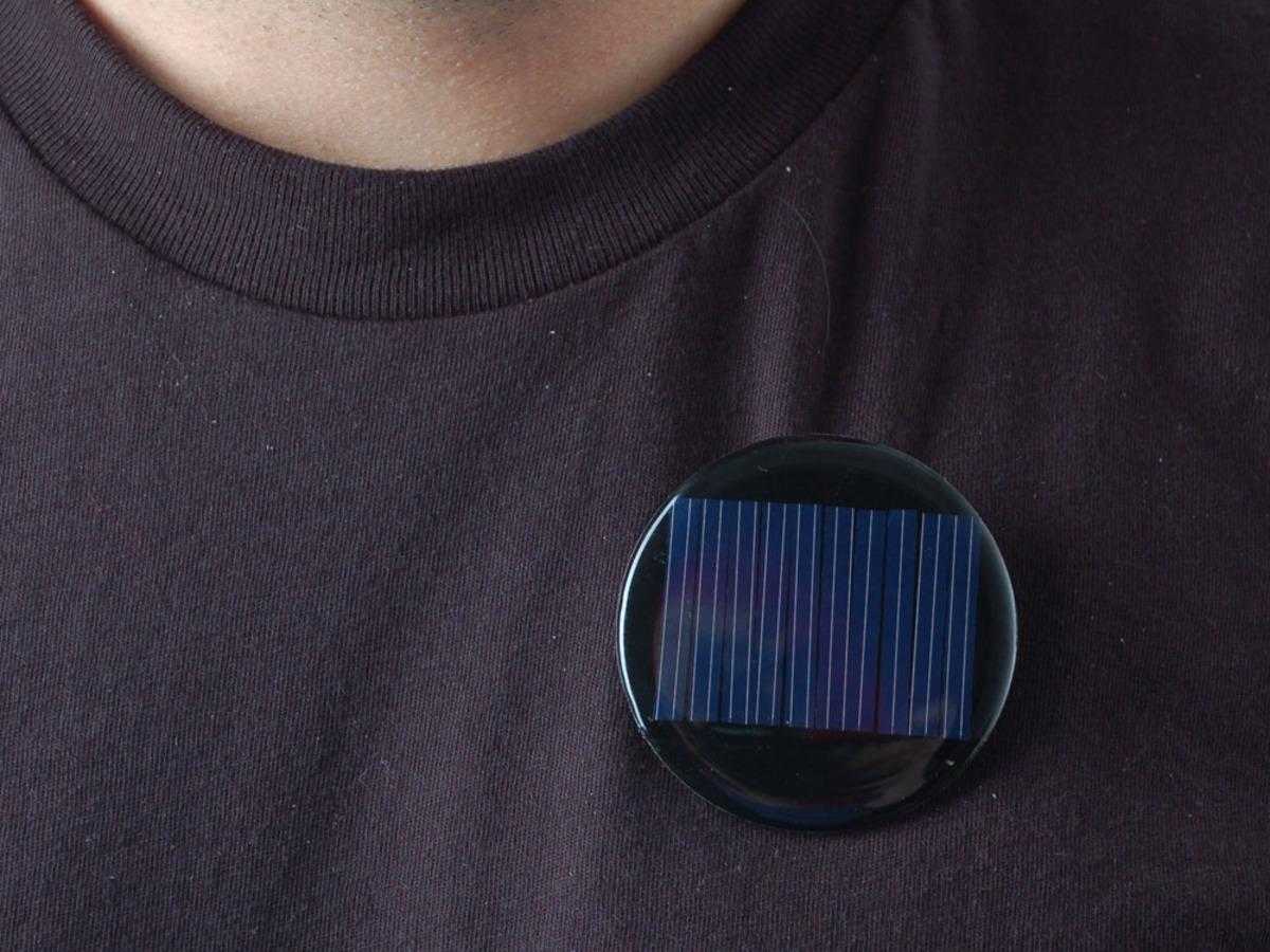 Round Solar Panel Skill Badge 5V 40mA 700 10 Items