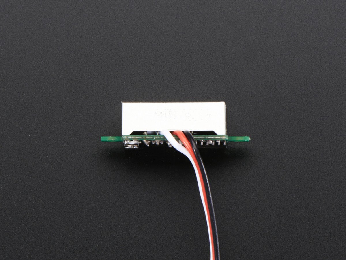 1 piece ADAFRUIT INDUSTRIES 705 MINI 3-WIRE VOLT METER 0 TO 99.9 VDC