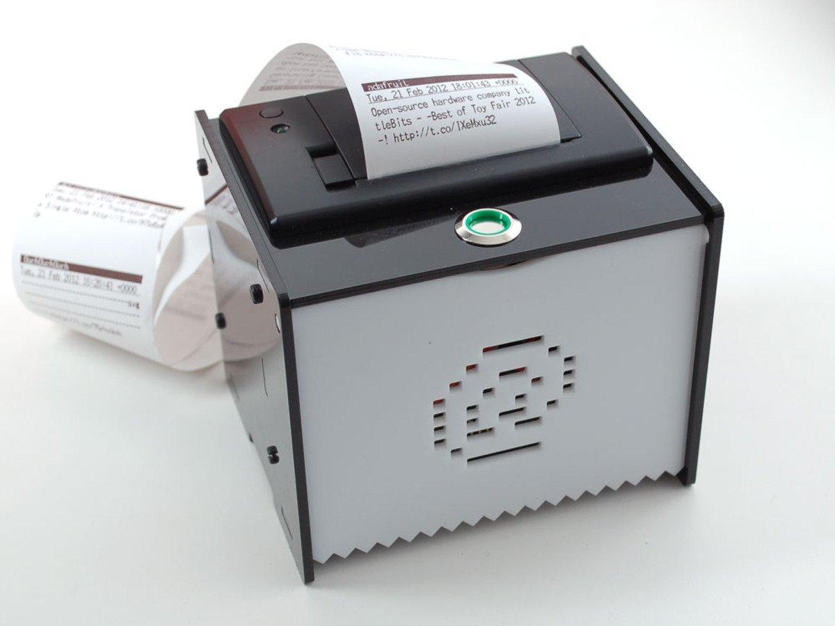 Adafruit iot printer project pack internet of things
