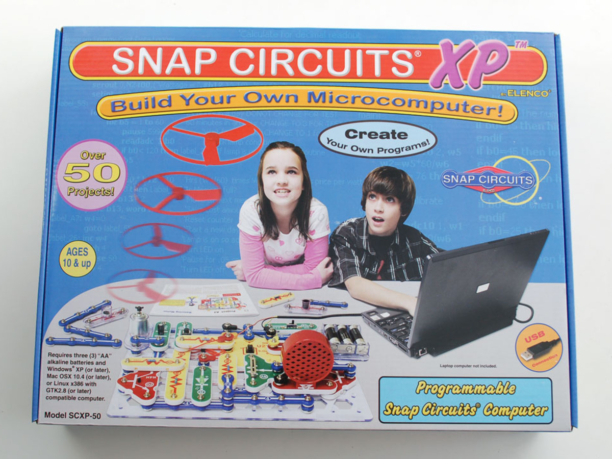 Snap Circuits Adafruit Industries Unique Fun Diy Electronics Electronic Circuit Xp Elenco