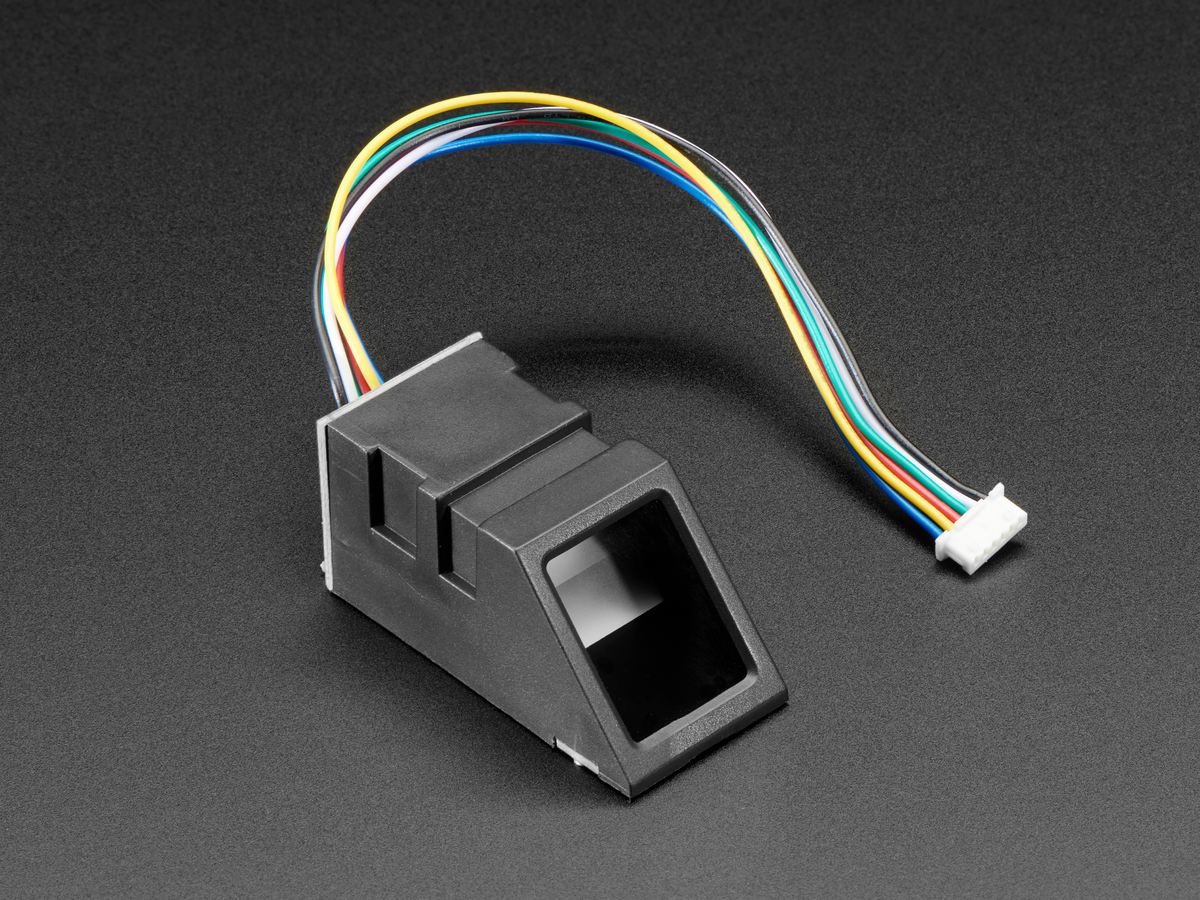 Wiring for use with Arduino | Adafruit Optical Fingerprint Sensor ...