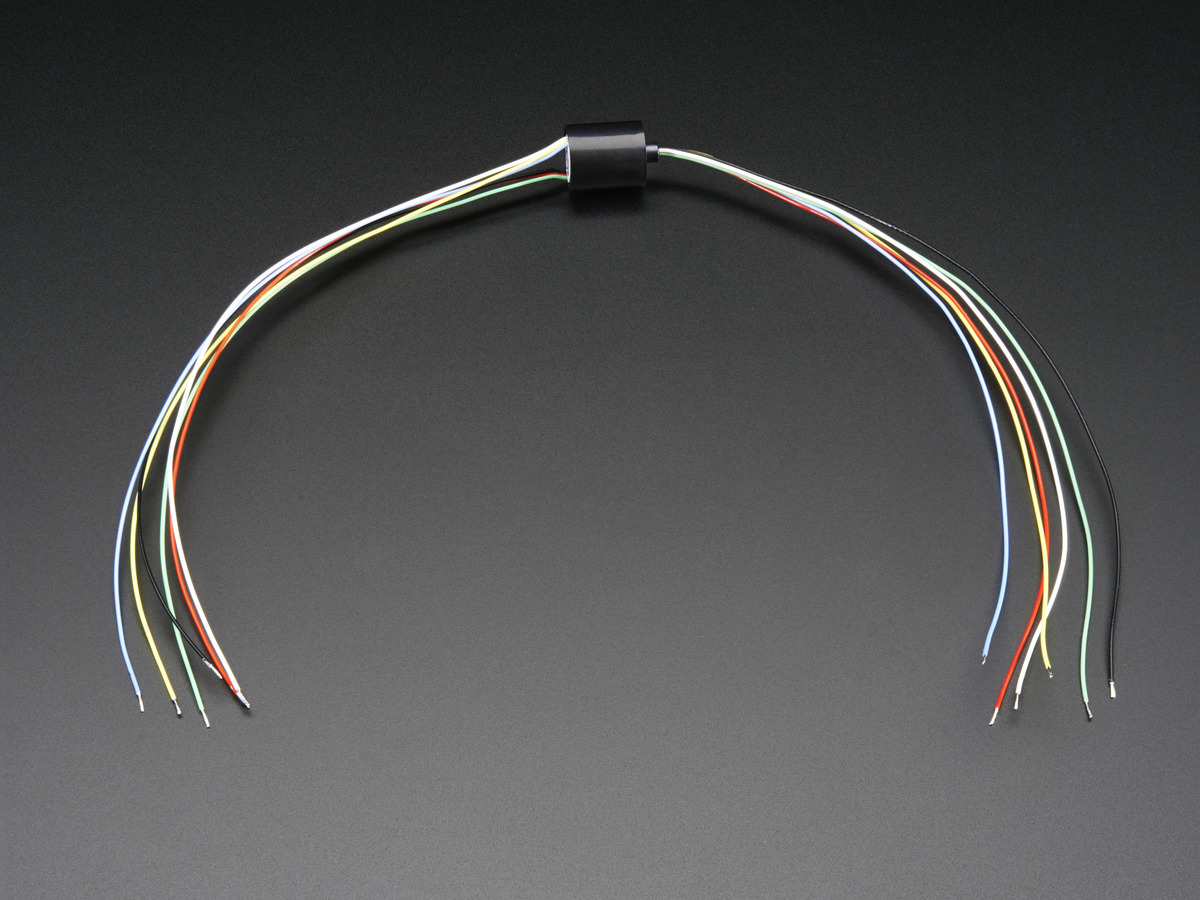 Miniature Slip Ring 12mm Diameter 6 Wires Max 240v 2a Id 775 Wiring Your Shop