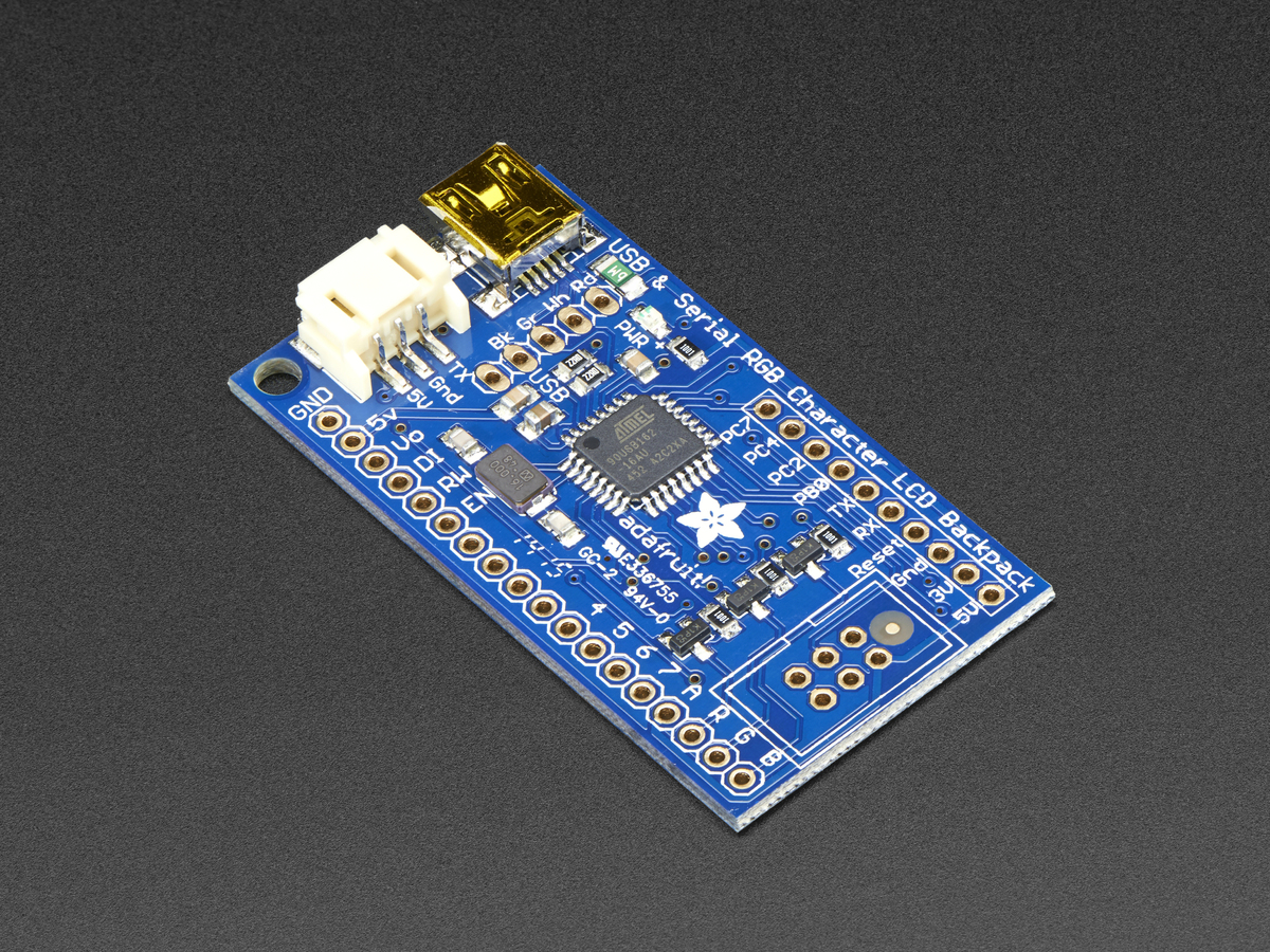 Standard Lcd 20x4 Extras White On Blue Id 198 1795 Cnc Character 2004 5v Backlight Module Adafruit Usb Serial Backpack Add With Cable Rgb Negative