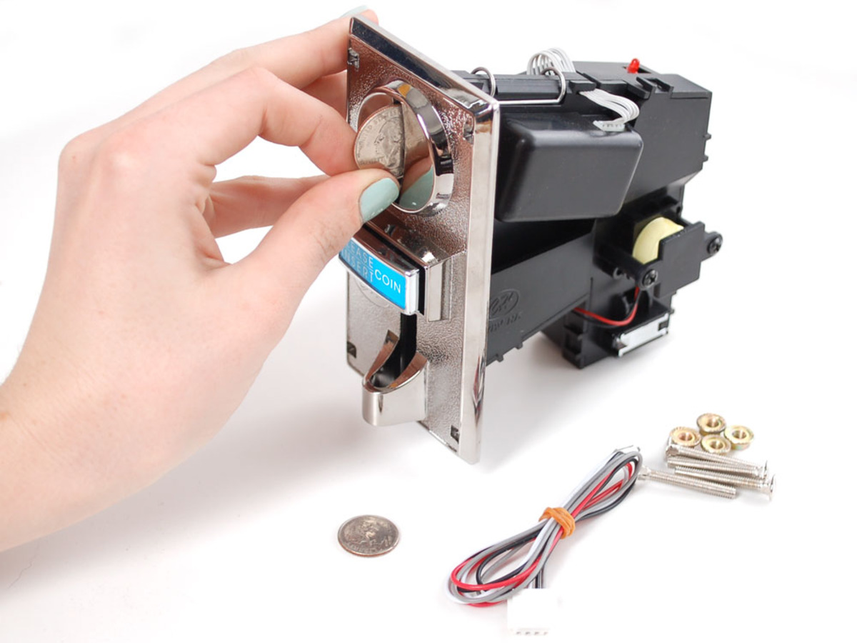 coin acceptor - programmable 4 coin type id  787