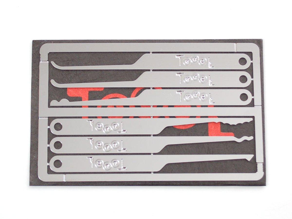 Toool emergency lock pick card id 788 3495 adafruit for Lockpick business card
